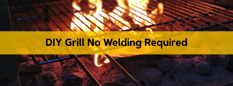 DIY Grill No Welding Required